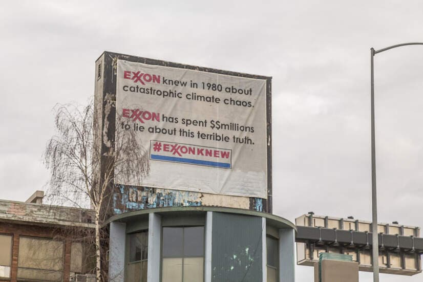 'Exxon supo del catastrófico caos climático en 1980'. John Duffy.