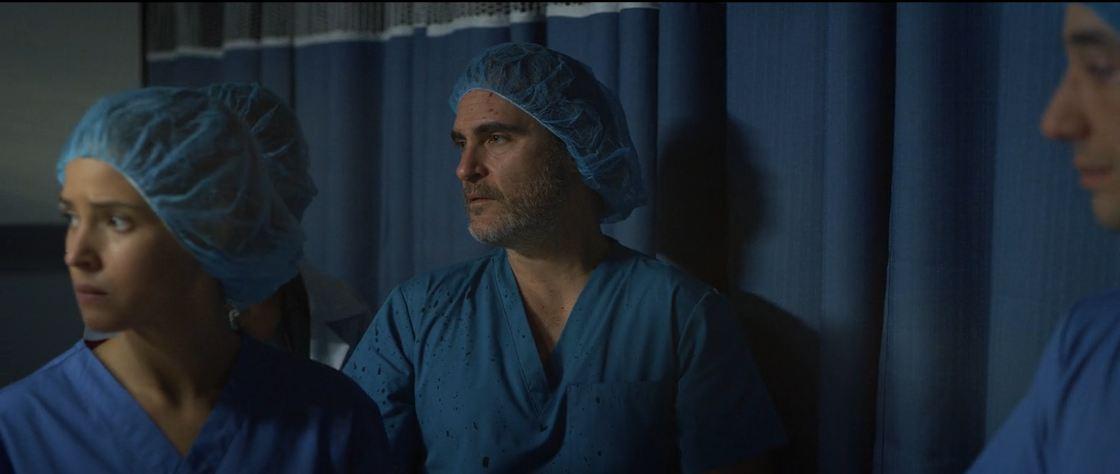 Fotograma de Guardianes de la Vida, con Joaquin Phoenix