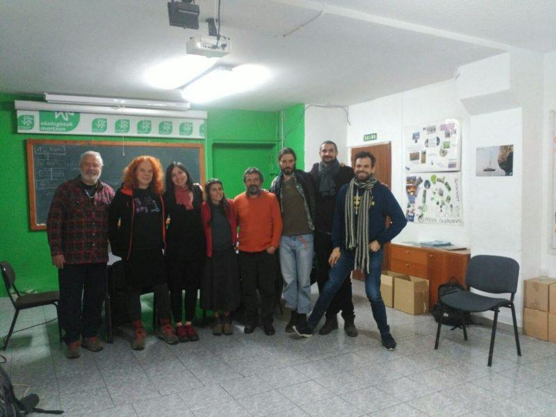 Primera reunión de XR España, celebrada en la sede de Ecologistas en Acción de Madrid. Foto cedida por Grian.